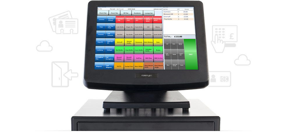 Smart Touchscreen Epos Tills And Stock Control System For